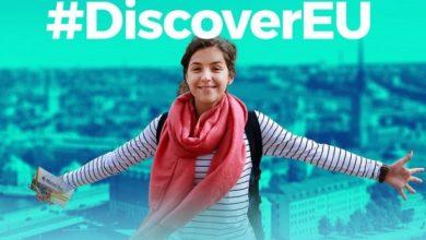 Photo of Scade il 28 novembre il termine per i 18enni per partecipare a  DiscoverEU