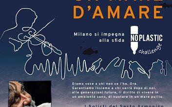 Photo of Milano per la sfida NO PLASTIC presenta 'Un mare d'amare – Serata d'autore con il Maestro Beppe Vessicchio'