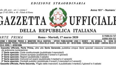 Photo of Corona virus, il decreto Cura Italia