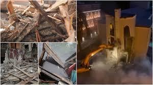 Photo of I vigliacchi della notte hanno distrutto il Teatro Nazionale