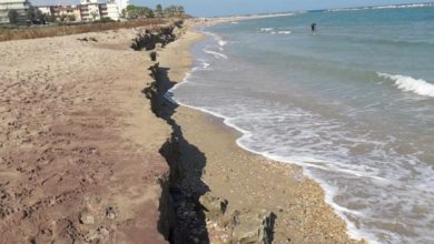 Photo of Metà delle spiagge italiane a rischio erosione