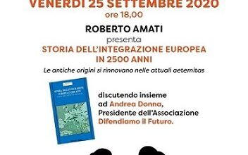 Photo of Presentazione del libro 'Storia dell'integrazione europea in 2500 anni'